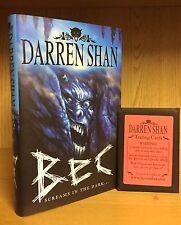 Bec - Darren Shan **Signed UK 1st/1st** 2006 + 1 Pack Scarce Trading Cards