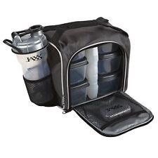 Fit  Fresh Original Jaxx FitPak Insulated Meal Prep Bag with Portion Control