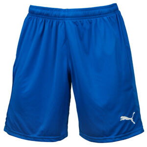 Puma LIGA Core Training Shorts Pants Running Sportswear Blue 70343602