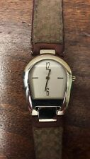 Coach Woman's Authentic Swiss Watch with Leather Coach Strap 0208