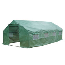 Heavy Duty Plant Gardening Dome/Spiked Greenhouse Tent Shed Portable Outdoor