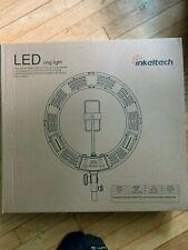 NEW NIB INKELTECH LED RING LIGHT PHOTOGRAPHY