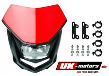 Polisport lámparas máscara halo faros máscara CR 04 rojo enduro Cross