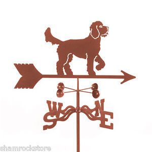 Dog - Golden Doodle Weathervane - Weather Vane - Doodie - w/ Choice of Mount