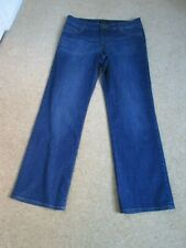 Blue Denim Straight Leg Jeans From La Redoute Size 14