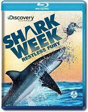 Shark Week: Restless Fury BLU RAY Fast Ship (VG-BRDDIS558051/VG-042)