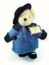 "MUFFY VANDERBEAR ""THE GRAND TOUR"" 1993 w/ Tag Passport 8"" Teddy Bear Plush Toy"