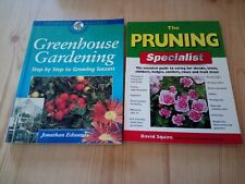 GREENHOUSE GARDENING BOOK & PRUNING TECHNIQUES BOOK (Paperbacks)