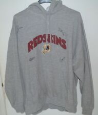 Washington Redskins Autographed Hoodie Size XL