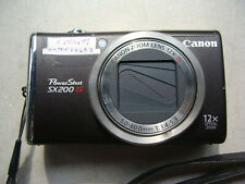 Canon PC1339 PowerShot SX200IS 12.1MP Digital Camera 12x Zoom