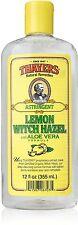 Witch Hazel with Aloe Vera Lemon, Thayers, 12 oz