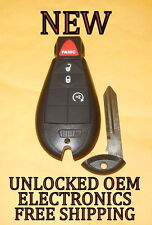 NEW 09 10 DODGE RAM 1500 2500 3500 REMOTE START KEYLESS REMOTE KEY FOB FOBIK