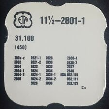 ETA Caliber 2801-1 Part Number 450 (Setting Wheel)