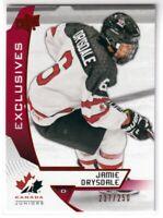 2019 UD Team Canada Juniors Jamie Drysdale Exclusives Rookie /250