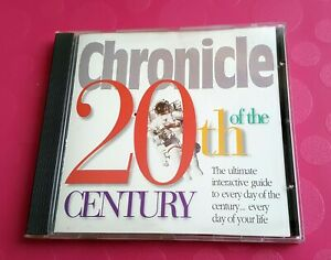 Chronicle of the 20th Century Interactive Encyclopedia CD