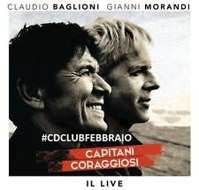 Baglioni Morandi - Capitani coraggiosi Il Live 2CD (new album/sealed)