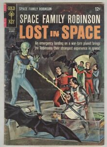 Space Family Robinson Lost in Space #18 October 1966 VG