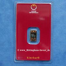 Lingots D'or 1 G 1 Gramme Kinebar Pièce De Monnaie Autriche Lipizzans Autriche