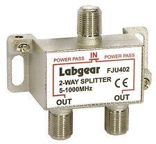 FJU402 - Splitter 2-Way Uhf 5-1000Mhz - LABGEAR