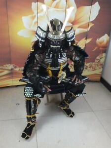 Replica Wearable Japanese Samurai Armor Yoroi Iron Suit Life Size Isosceles HZY