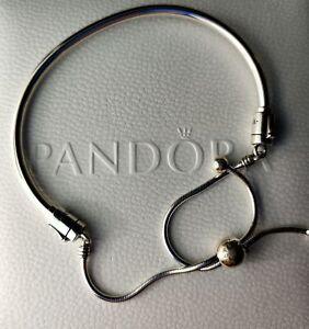 Pandora Bracelet 597953cz  17 cm Moments Schiebearmband