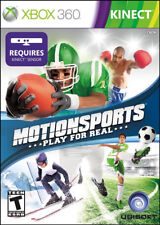 MotionSports: Play For Real Xbox 360 New Xbox 360