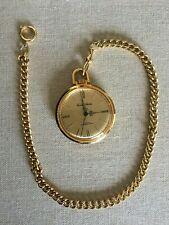 Ever Swiss 17 Jewels Shock Resistant Mechanical Wind Up Vintage Pocket Watch