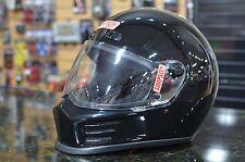 Simpson Street Bandit Gloss Black Motorcycle Helmet SIZE XLARGE XL