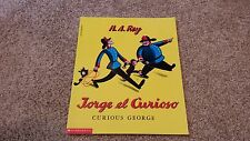 Curious George Book New in Spanish - Jorge el Curioso - Softcover