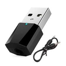 Bluetooth 4.2 Transmisor Audio Adaptador Inalámbrico 3.5mm Jack con A2DP Tv