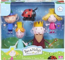 Ben & Holly's Little Kingdom 5-Figure Pack  inc King & Queen Thistle and Gaston