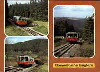 Transport & Verkehr BERGBAHN Oberweißbach Thüringen DDR Postkarte Ansichtskarte