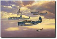 Only One Survived by Craig Kodera - Aviation Art Print