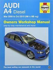 Audi A4 Diesel Owners Workshop Manual: 2008-2015 by John S. Mead (Paperback, 2016)