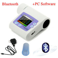 New Rechargeable Bluetooth Spirometer Lung Volume Pulmonary Function,PC software
