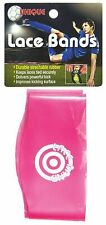 Unique Sports Lace Bands - Cleat Lace Covers, Neon Pink, Soccer -Baseball- Rugby