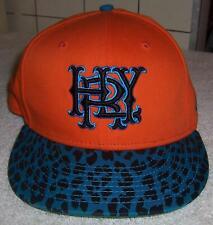 Hurley Baseball Hat - Adjustable Orange New Era