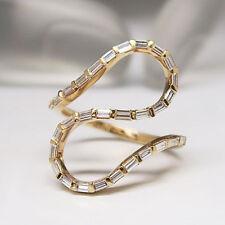 Moderner Ring mit 0,78ct TW-si Diamant in 750/18K Rosegold Neu UVP: 2.969,-€