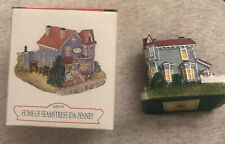 Liberty Falls Ah159 Home of Seamstress Ida Penney The Americana Collection 1998