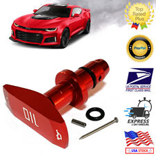 Universal Red Billet Aluminum Oil Dipstick Handle Chevy, Ford, Dodge, Jeep V8
