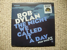 """BOB DYLAN - """"The Night We Called It A Day""""  2015 RSD 7"""" Blue Vinyl MINT SEALED"""
