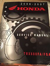 2006-2007 Honda TRX680FA/FGA Service Manual