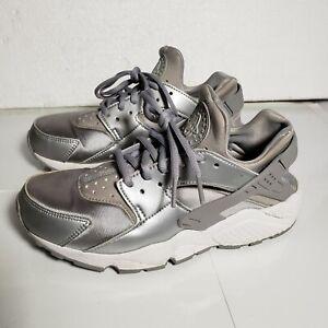 huarache zapatillas plata