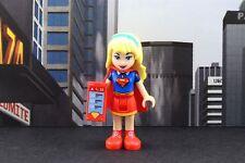 Lego Mini Figure Super Heroes DC Girls Supergirl from Set 41232