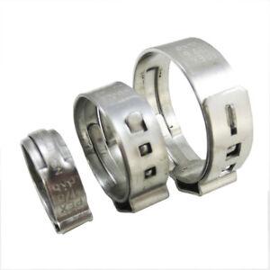 "(1000 pcs) 1/2"" PEX Stainless Steel Clamps Cinch Pinch Rings NSF - PEX GUY"