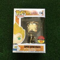 Funko Pop! Dragon Ball Z: Super Saiyan Vegeta Gold Chrome Toy Tokyo Exclusive