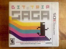 Bit Trip Saga 3DS Nintendo 2011 Complete Game & Case