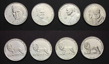Congo Set 4 Coins Set the Pope ALL  different  1 France, 2004, Unc