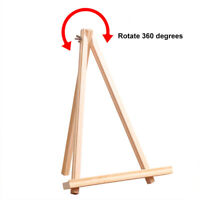 1 Piece Wooden Display Easel Holder Stand Drawing Board Wood Photo Frame B