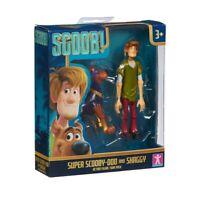 Scooby Película Figuras Estatuillas Pack Doble - Súper Doo & Shaggy